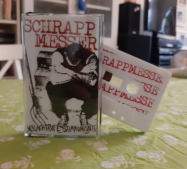 Schrappmesser - Schlachtrufe Stimmungshits - Tape